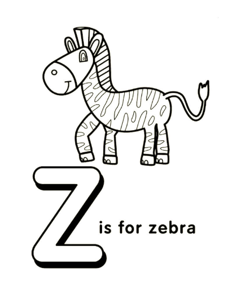 Раскраски буквы английского алфавита с картинками ...