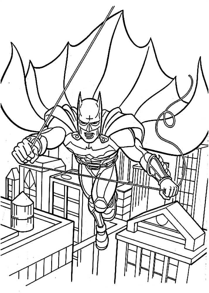 Раскраски Бэтмен распечатать или скачать бесплатно в ...