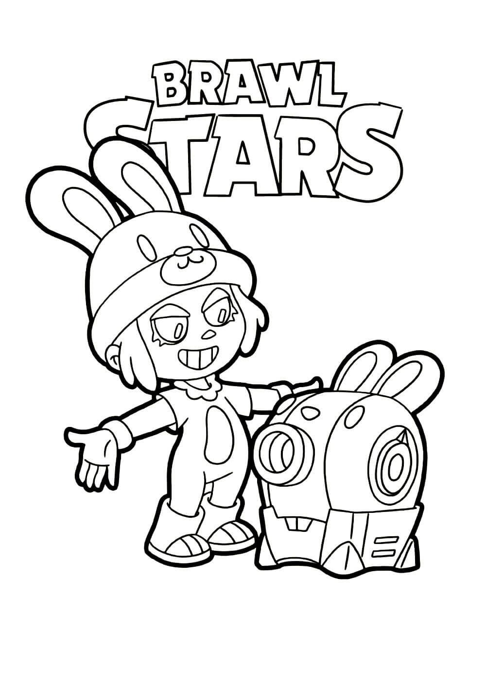 Раскраски Браво Старс (Brawl Stars) распечатать или ...
