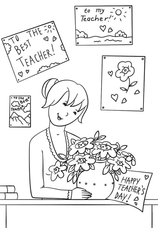 Анимация, эскизы открыток для дня учителя