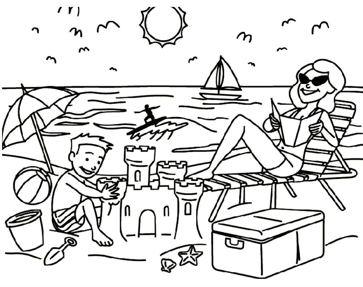 Рисунок отпуск карандашом