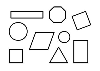Раскраски геометрических фигур распечатать или скачать ...