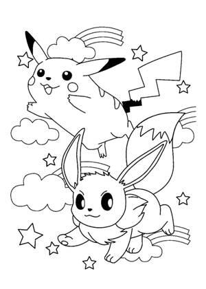 Раскраски Покемоны распечатать или скачать бесплатно в ...