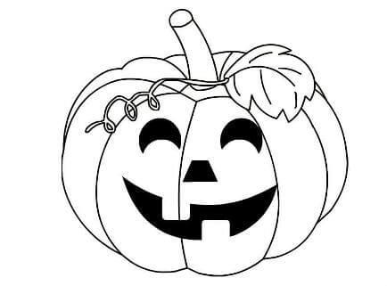 Раскраски тыквы на Хэллоуин распечатать или скачать ...