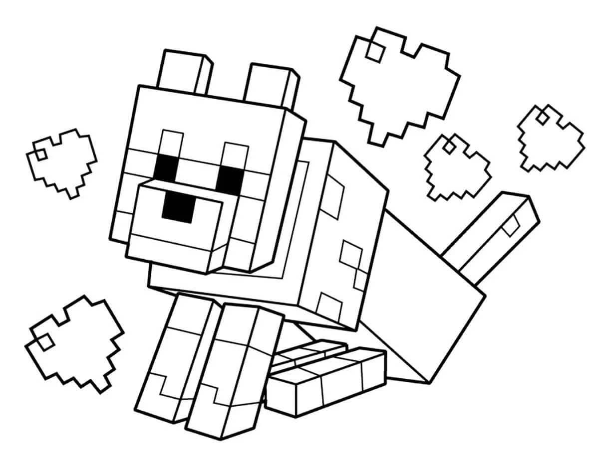 картинки персонажа майнкрафт распечатать жена, дети внуки