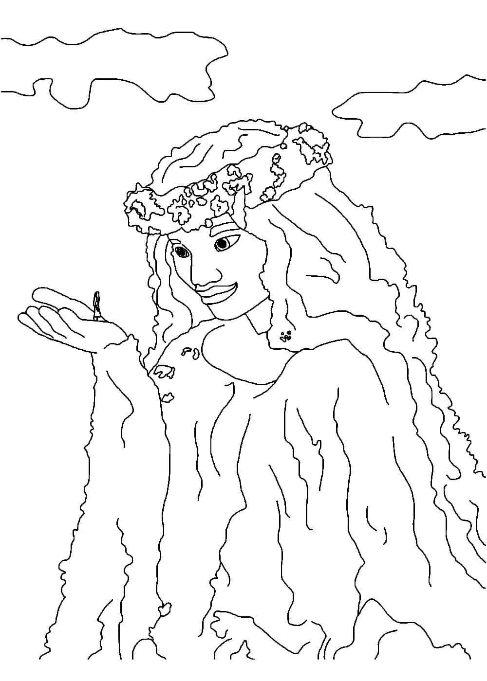 Раскраски Моаны распечатать или скачать бесплатно в ...