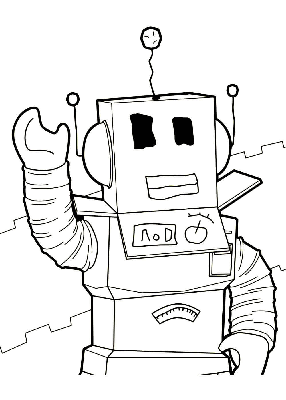Раскраски Роблокс (Roblox) распечатать или скачать ...