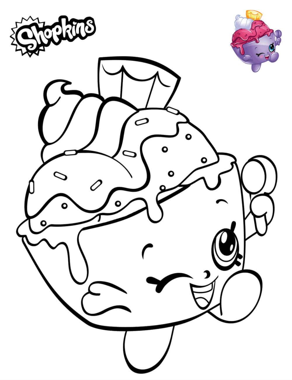 Раскраски Шопкинс распечатать или скачать | Детские раскраски