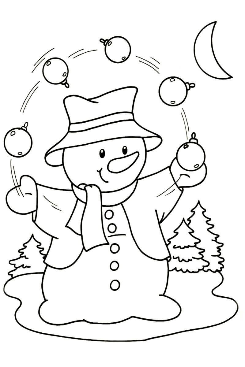 принта новогодние картинки снеговика раскраска этот аппарат