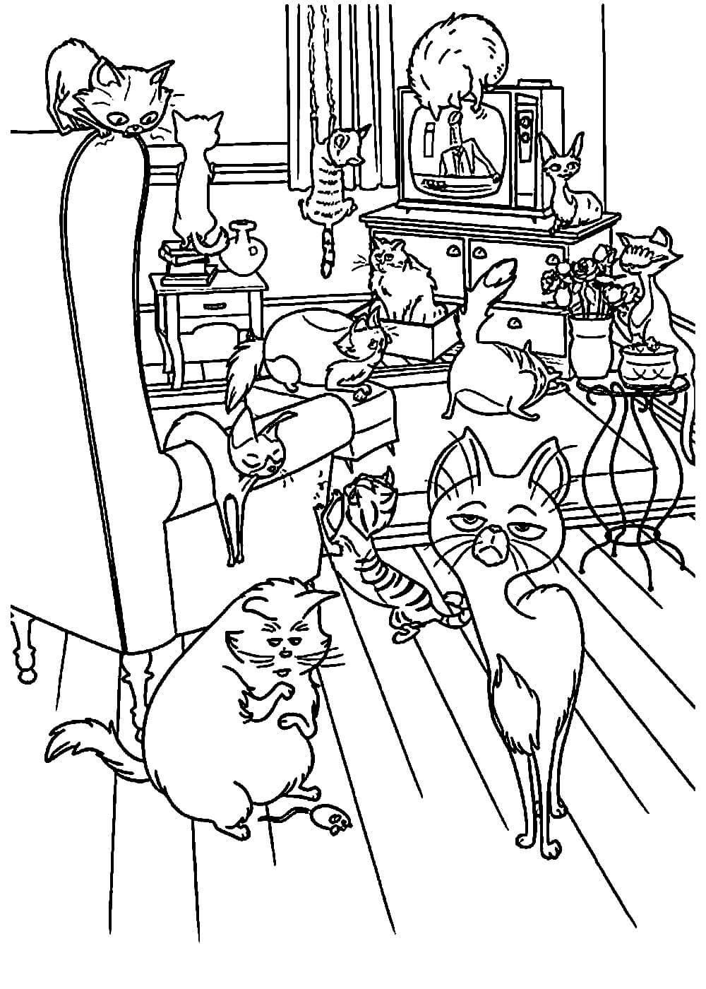 Раскраски Тайная жизнь домашних животных распечатать или ...