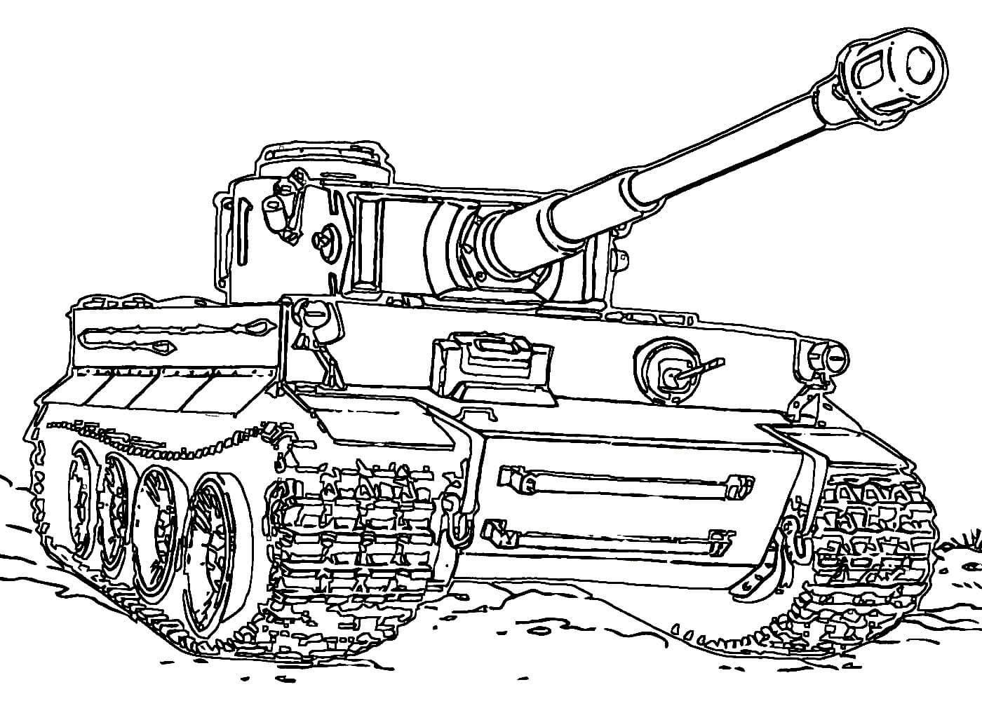 Раскраски танки распечатать или скачать бесплатно в ...